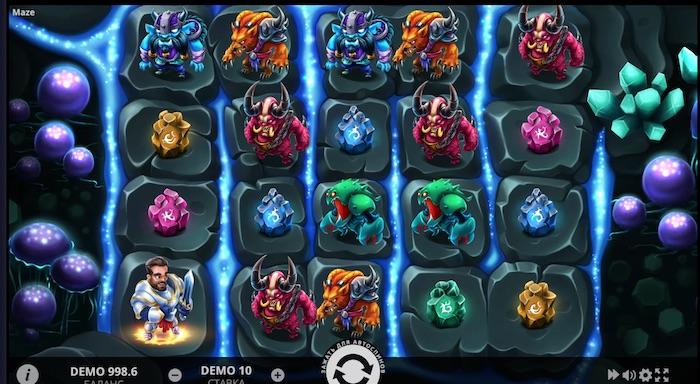 Игровой автомат Maze