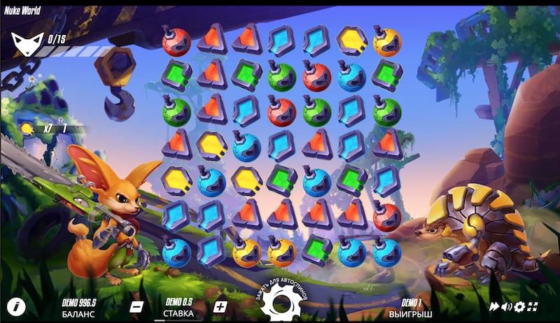 Игровой слот Nuke World