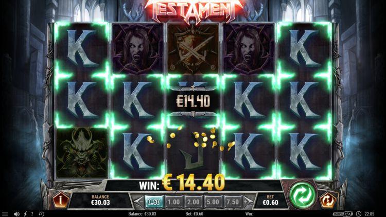 Слот Testament в казино Вулкан