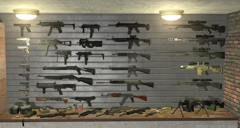 Оружие в cs:go