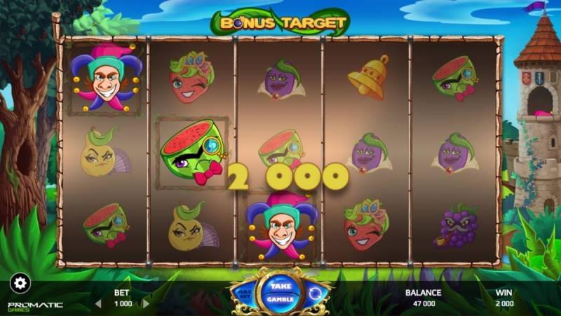 Игровой автомат Target Bonus